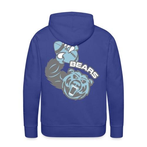 Bears Rugby - Sweat-shirt à capuche Premium pour hommes