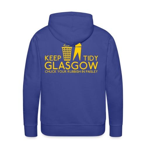 Keep Glasgow Tidy - Men's Premium Hoodie