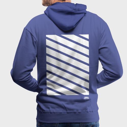 Zebra Nation (Stripes) 2019 Collection - Men's Premium Hoodie
