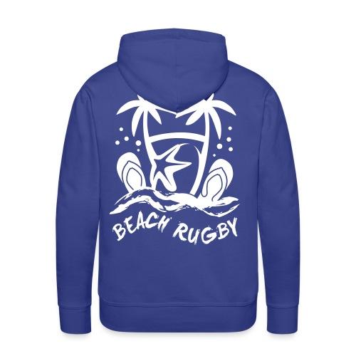 BEACH RUGBY - Sweat-shirt à capuche Premium pour hommes