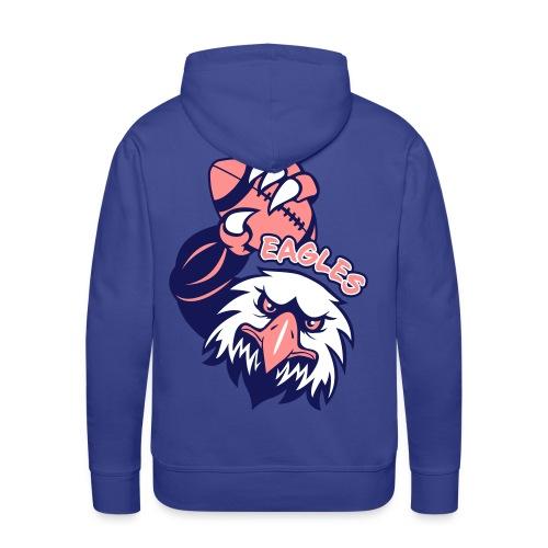 Eagles Rugby - Sweat-shirt à capuche Premium pour hommes