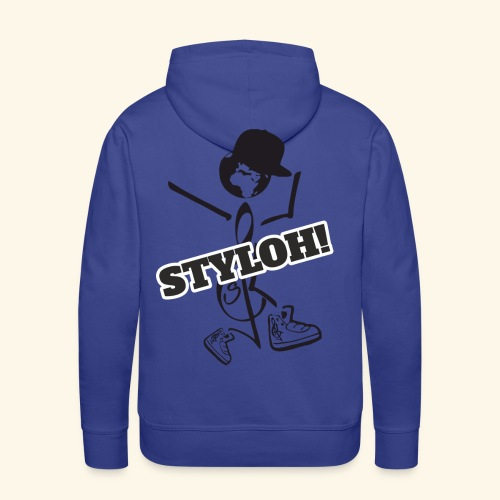 STYLOH! - Sudadera con capucha premium para hombre