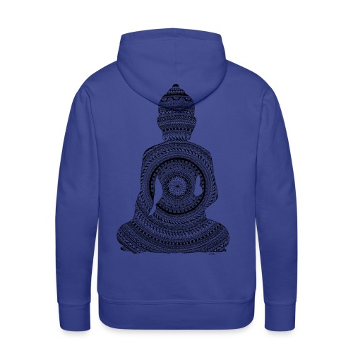 Bouddha GraphiZen - Sweat-shirt à capuche Premium pour hommes