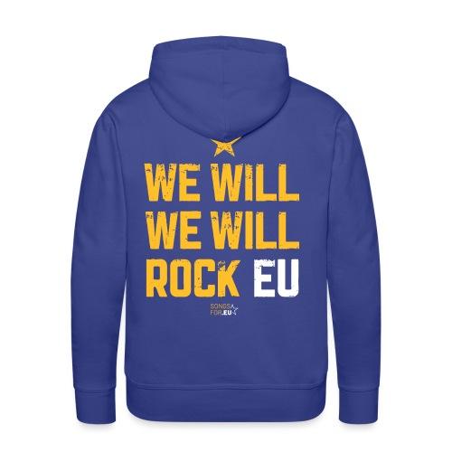 We want to rock EU | SongsFor.EU - Men's Premium Hoodie