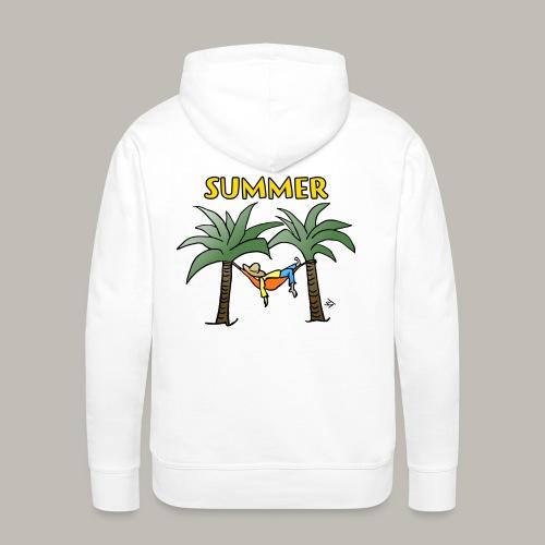 Meditation - Sweat-shirt à capuche Premium pour hommes