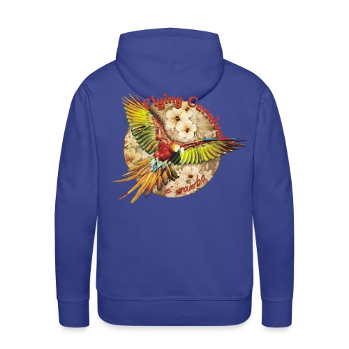 Flying Carnival Perrot e Samba By ZzoozZ - Sweat-shirt à capuche Premium pour hommes