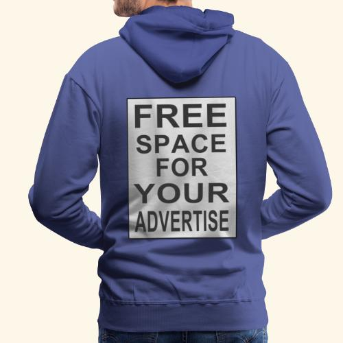 Free space for your advertise - Men's Premium Hoodie
