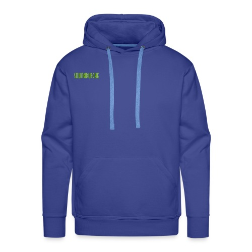 sounddusche schriftzug shirt - Männer Premium Hoodie