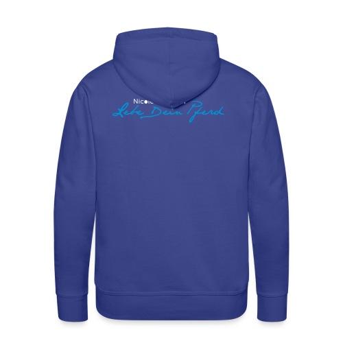 Logo_LebedeinPferd_ - Männer Premium Hoodie