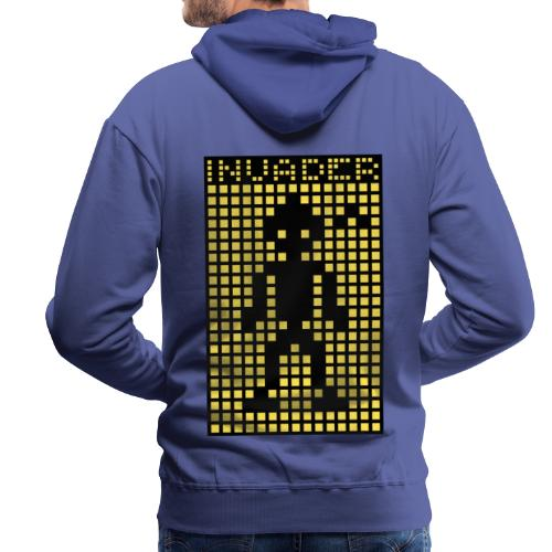 Invader (the greys) - Men's Premium Hoodie