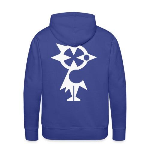 Hermine Superstar - Sweat-shirt à capuche Premium pour hommes