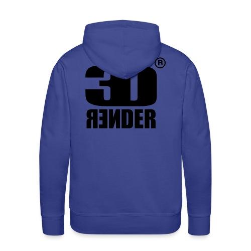render logo vector version - Men's Premium Hoodie
