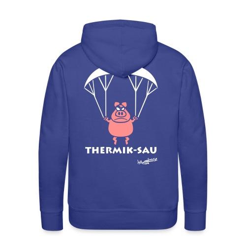 ThermikSau_braun - Männer Premium Hoodie