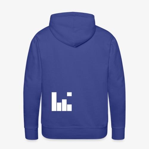 logoBSound - Sweat-shirt à capuche Premium pour hommes