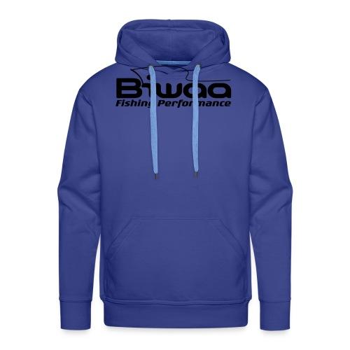 logo biwaa noir sans fond - Sweat-shirt à capuche Premium pour hommes