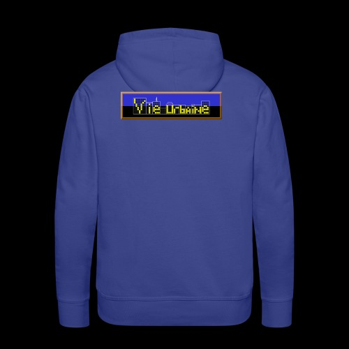 vie urbaine - Sweat-shirt à capuche Premium pour hommes