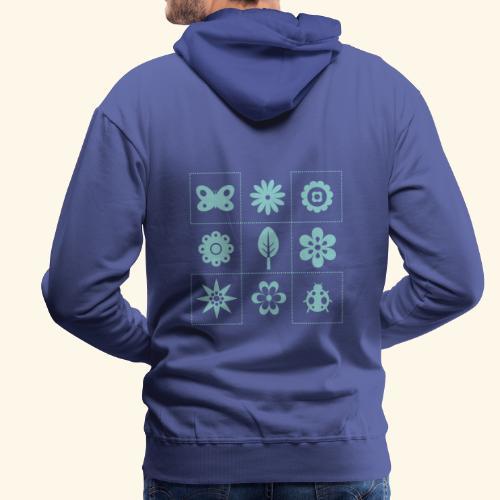 tateti fauna y flora - Sudadera con capucha premium para hombre