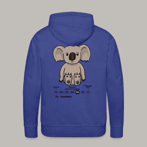 Koala & Co - Sweat-shirt à capuche Premium pour hommes