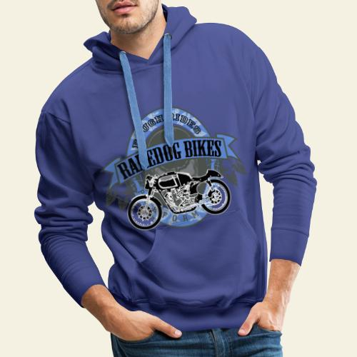 raredog bikes - Herre Premium hættetrøje