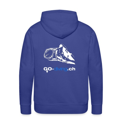 Go Diving - Sweat-shirt à capuche Premium pour hommes