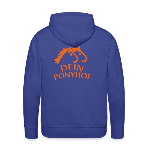 DEIN Ponyhof - Männer Premium Hoodie