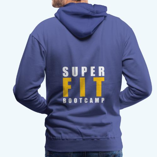 Superfit Logo on colour (non white) products - Men's Premium Hoodie