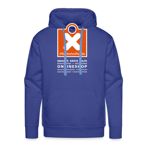 pflasterkoffer hoodie vorne01neu - Männer Premium Hoodie