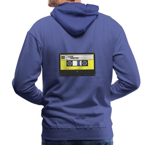 RETRO CASSETTE 80s - Sweat-shirt à capuche Premium pour hommes