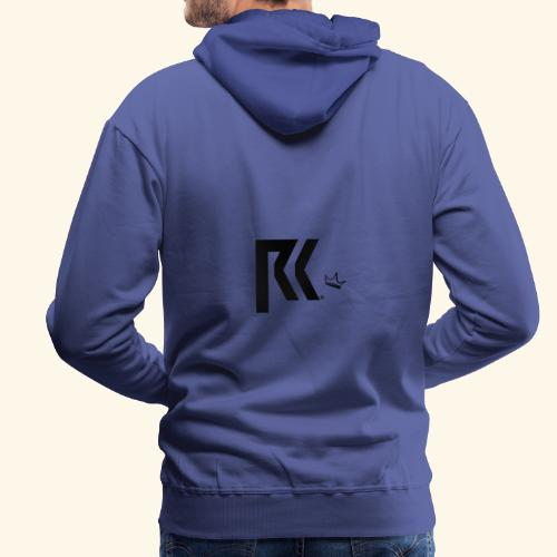 RK Official Design Black - Männer Premium Hoodie