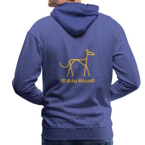 Podenco stilisiert - Männer Premium Hoodie