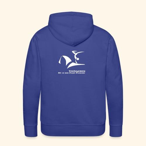 Fan- und Trainingskleidung_Logo weiß - Männer Premium Hoodie
