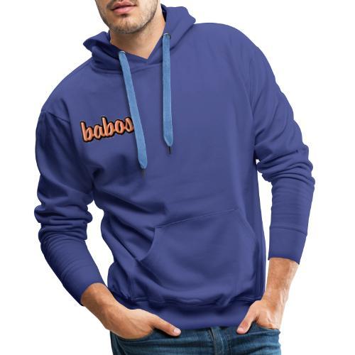 babos - Premium hettegenser for menn