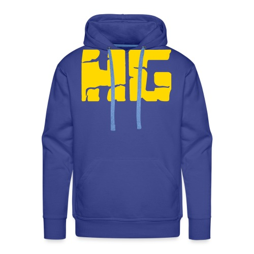 Transparant - Mannen Premium hoodie