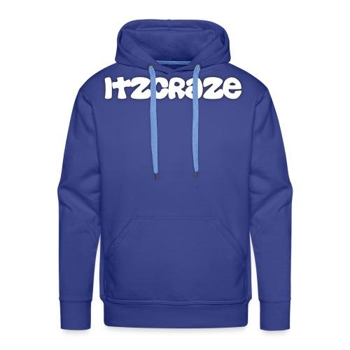 itzcraze apparel white - Men's Premium Hoodie