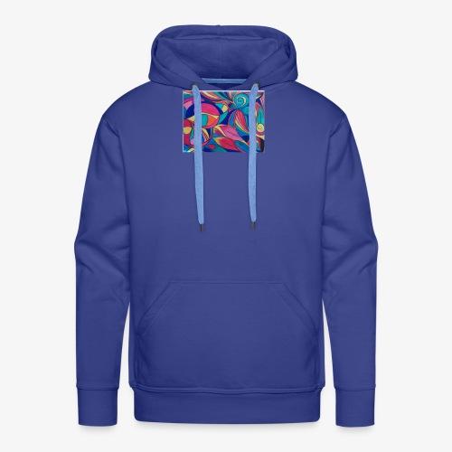 Fiesta de colores - Sudadera con capucha premium para hombre