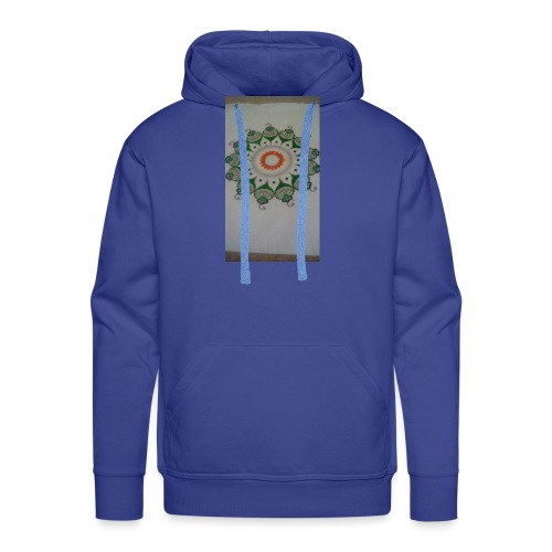 Freehand pattern by josef - Men's Premium Hoodie