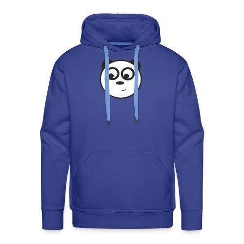 panda face /cara de panda - Sudadera con capucha premium para hombre