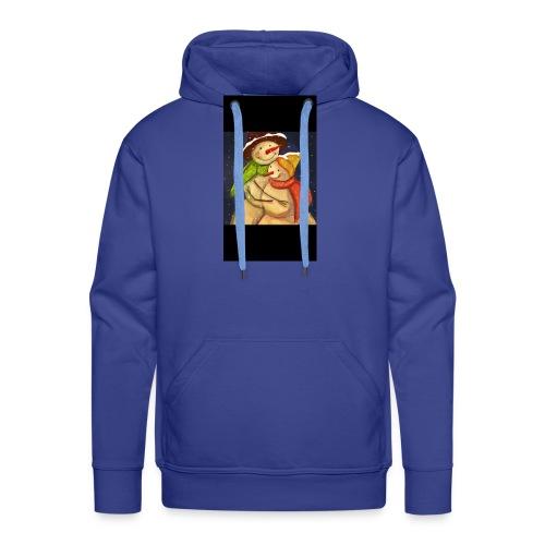 Amor de navidad - Sudadera con capucha premium para hombre