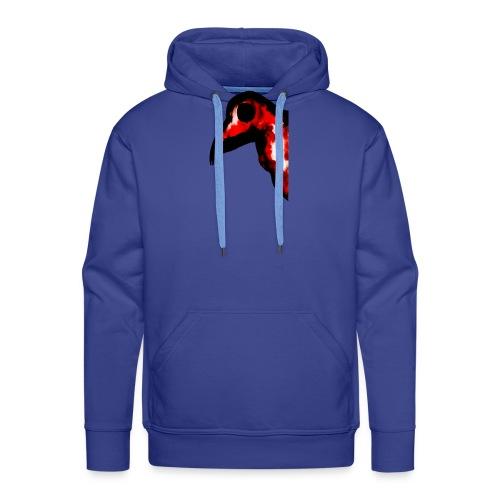 Oiseau rouge de feu - Sweat-shirt à capuche Premium pour hommes