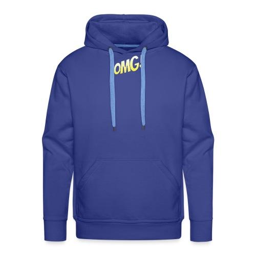 omg - Sweat-shirt à capuche Premium pour hommes