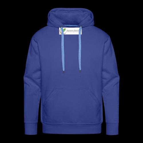 Agences-Spatiales - Sweat-shirt à capuche Premium pour hommes
