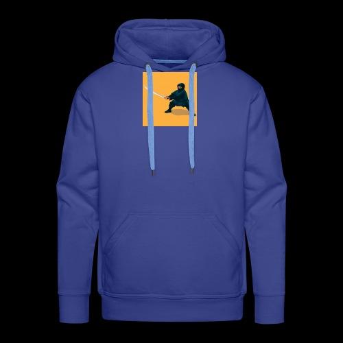 dikke ninja - Mannen Premium hoodie