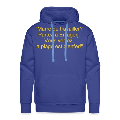 Sentinarum recto 1 - Sweat-shirt à capuche Premium pour hommes