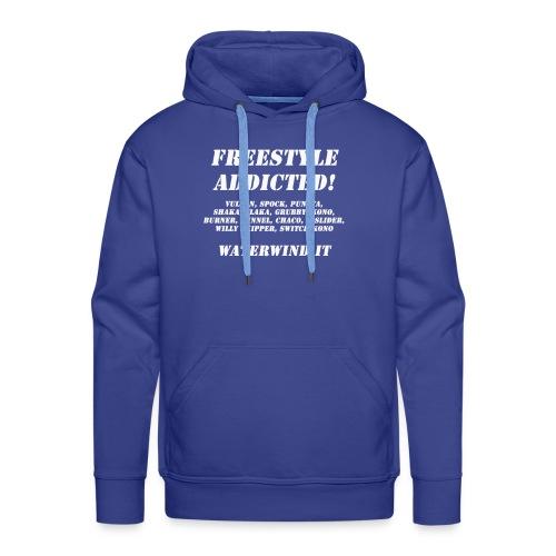 freestyle addicted - Men's Premium Hoodie