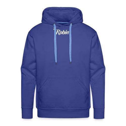 Ox E bike Prenom Robin - Sweat-shirt à capuche Premium pour hommes