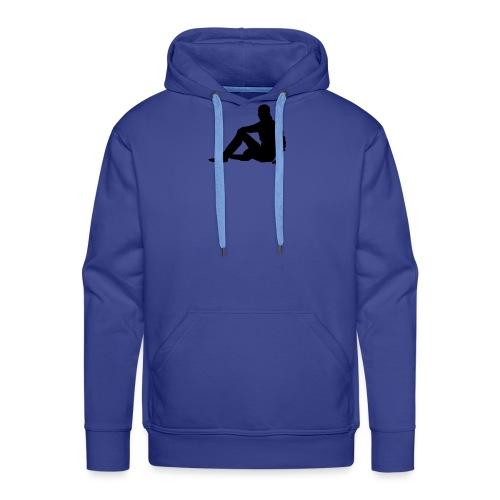 silhouette 3049706 480 - Männer Premium Hoodie