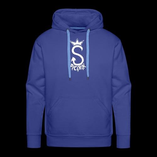 spacerek - Bluza męska Premium z kapturem