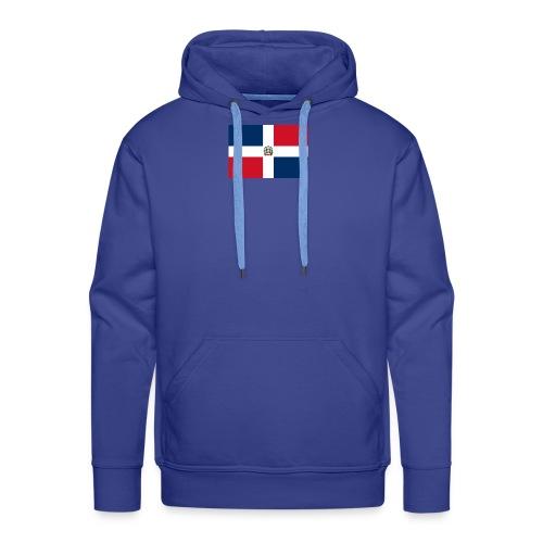 republique dominicaine - Sweat-shirt à capuche Premium pour hommes