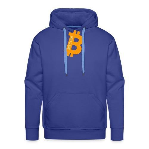 Bitcoin addict - Sweat-shirt à capuche Premium pour hommes