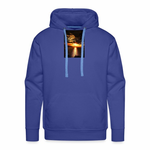 Paysage - Sweat-shirt à capuche Premium pour hommes
